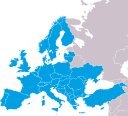 FlightAware Europe: Albania,Armenia,Austria, Belgium, Bosnia and Herzegovina, Bulgaria, Croatia, Cyprus, Czech Republic, Denmark, Finland, France, Germany, Greece, Hungary, Ireland, Italy, Latvia, Lithuania, Luxembourg, Malta, Moldova, Monaco, Montenegro, Netherlands, Norway, Poland, Portugal, Romania, Serbia, Slovakia, Slovenia, Spain, Sweden, Switzerland, Macedonia,Turkey, Ukraine and The United Kingdom
